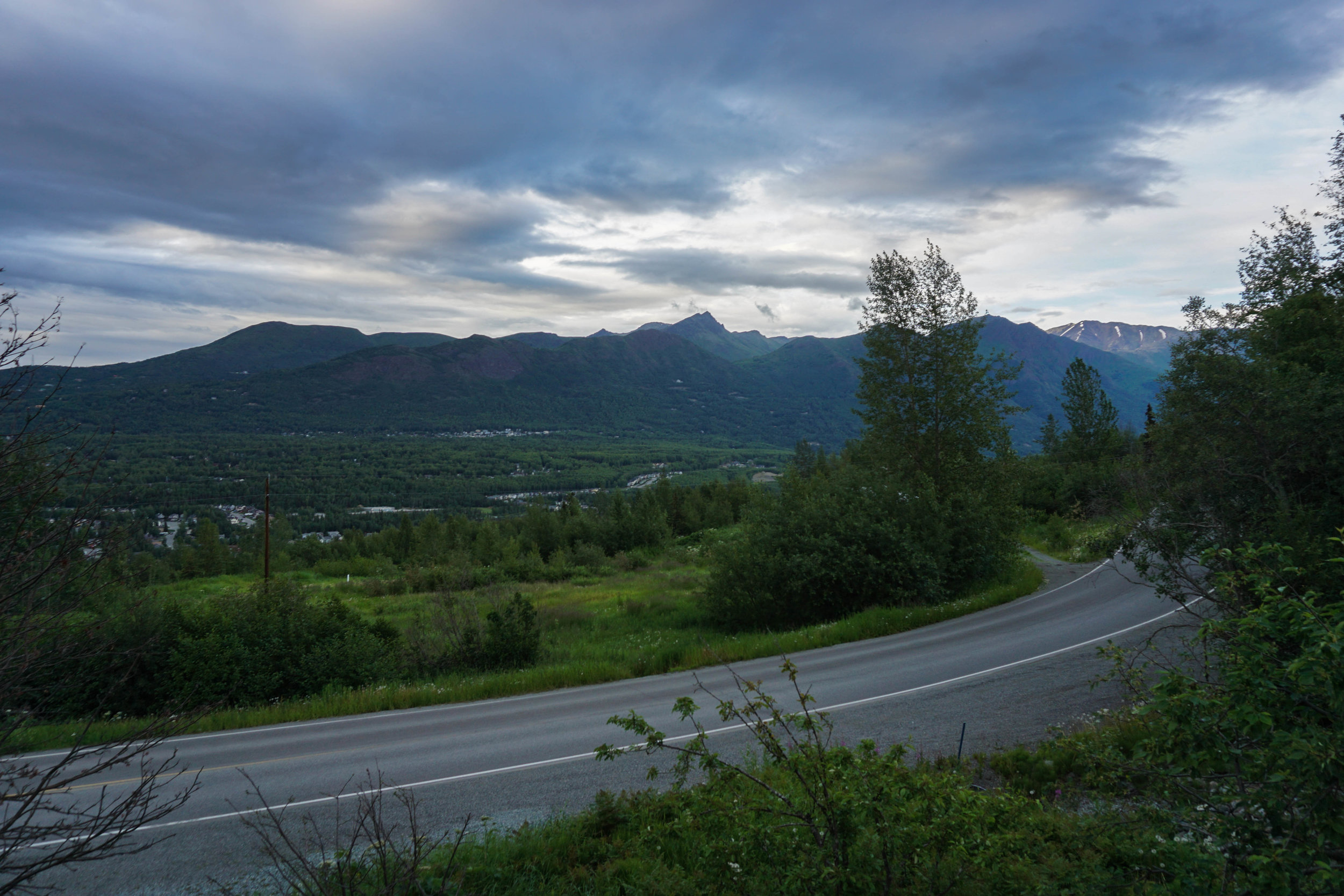I took this when I was doing a little easy hiking around Anchorage.