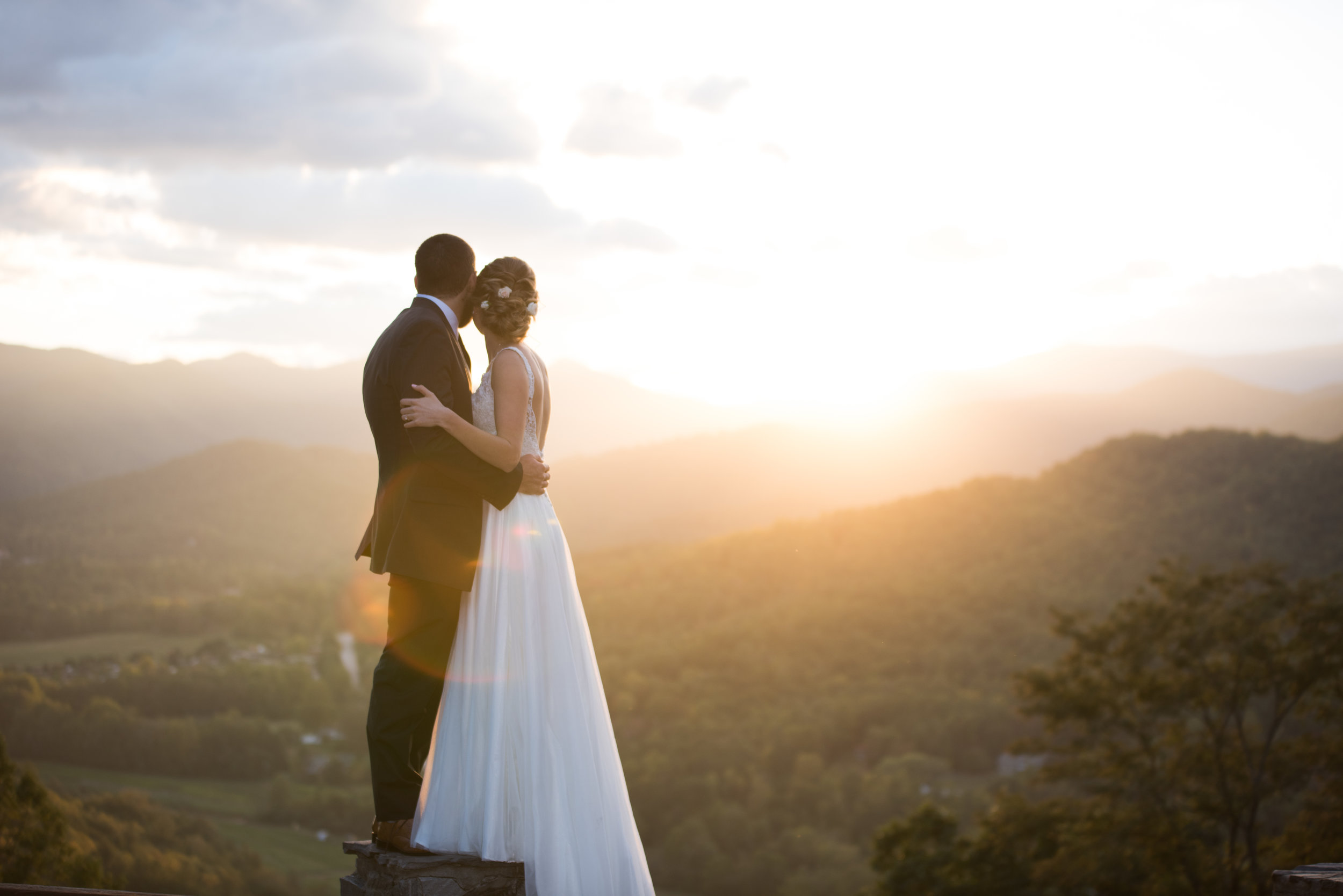 wedding portrait in north carolina