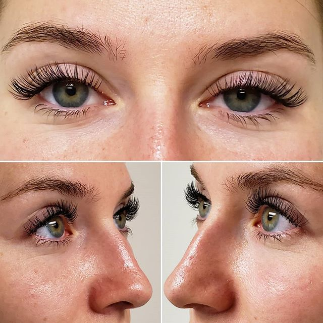 Lashes for days! #beforeandafter #lashesfordays #eyelashes #xtremelashes #denverlashes