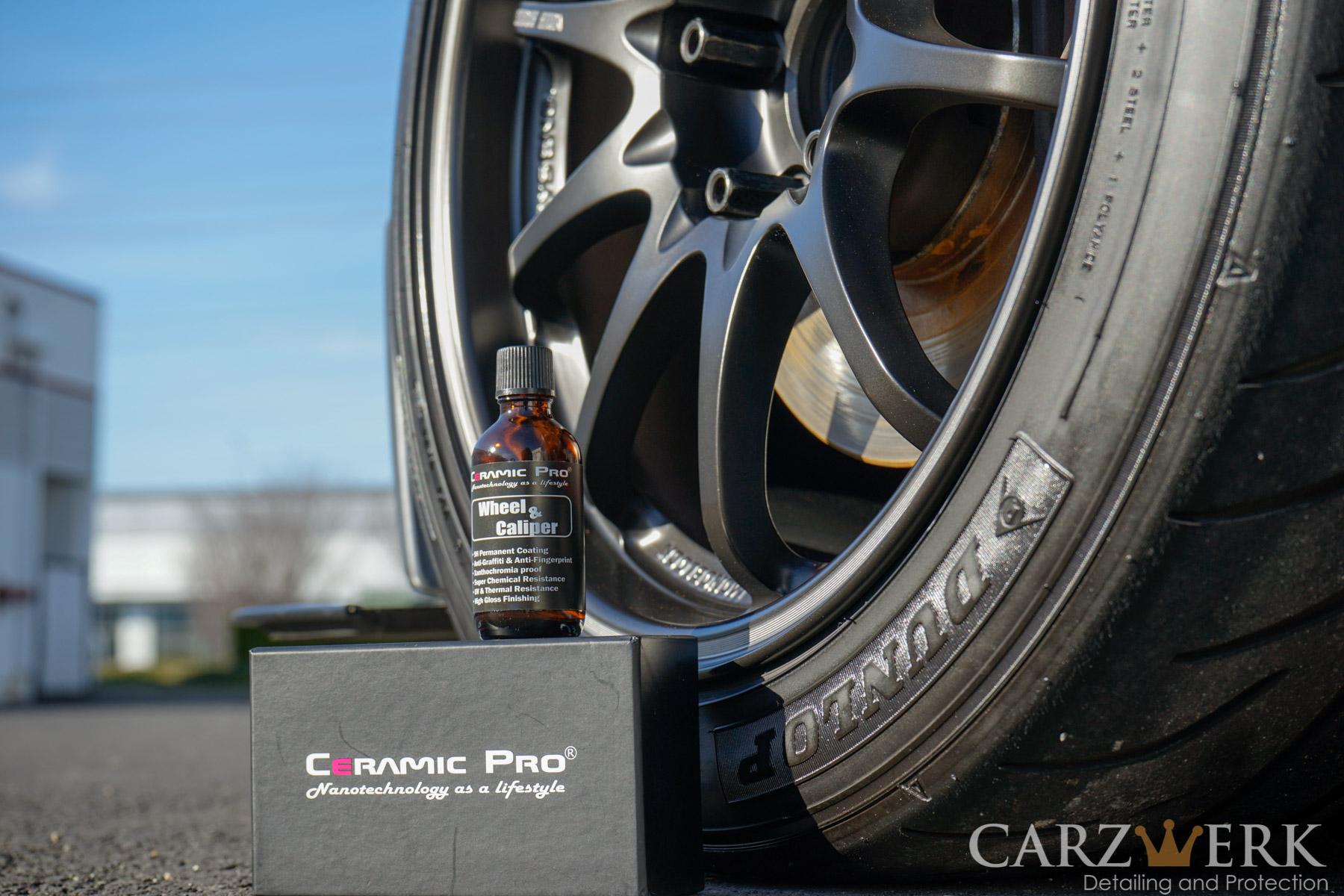 Ceramic Pro Wheel & Caliper Coating  Donated by Carzwerk. Estimated value: $295. 1 winner.