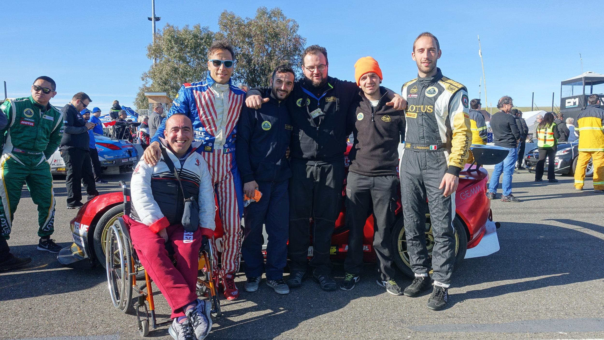 From left to right: Checco, Stefano, Andrea, Carlo, Luca, and Lorenzo