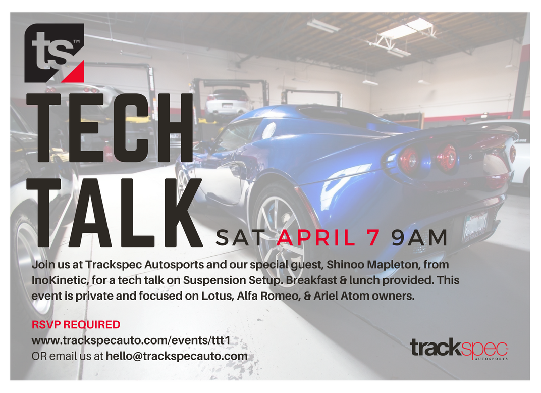 Please share this flyer with your fellow Lotus/Ariel/Alfa friends.