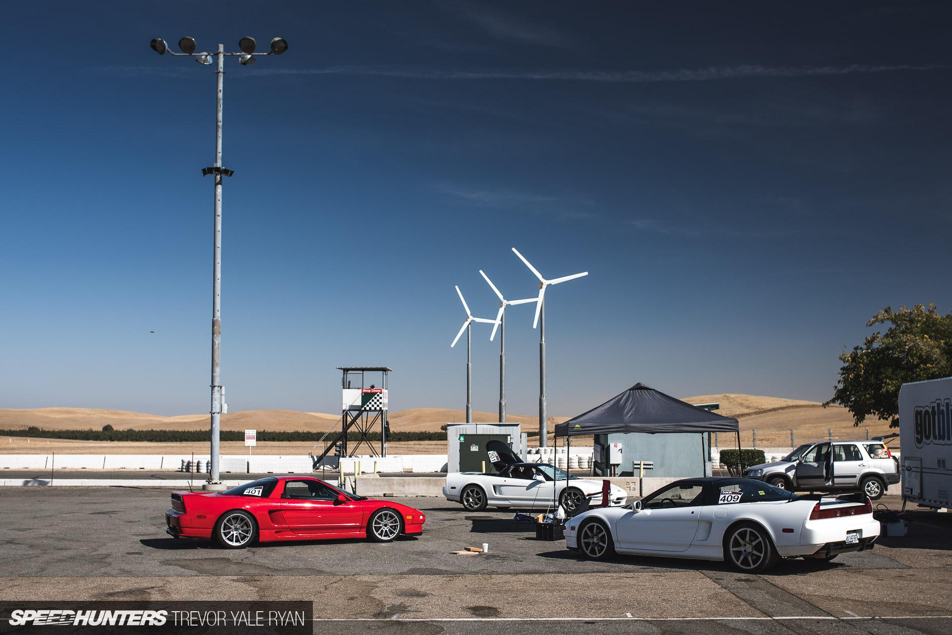 NSXPO Meets Type R Club At Thunderhill - By Trevor Ryan