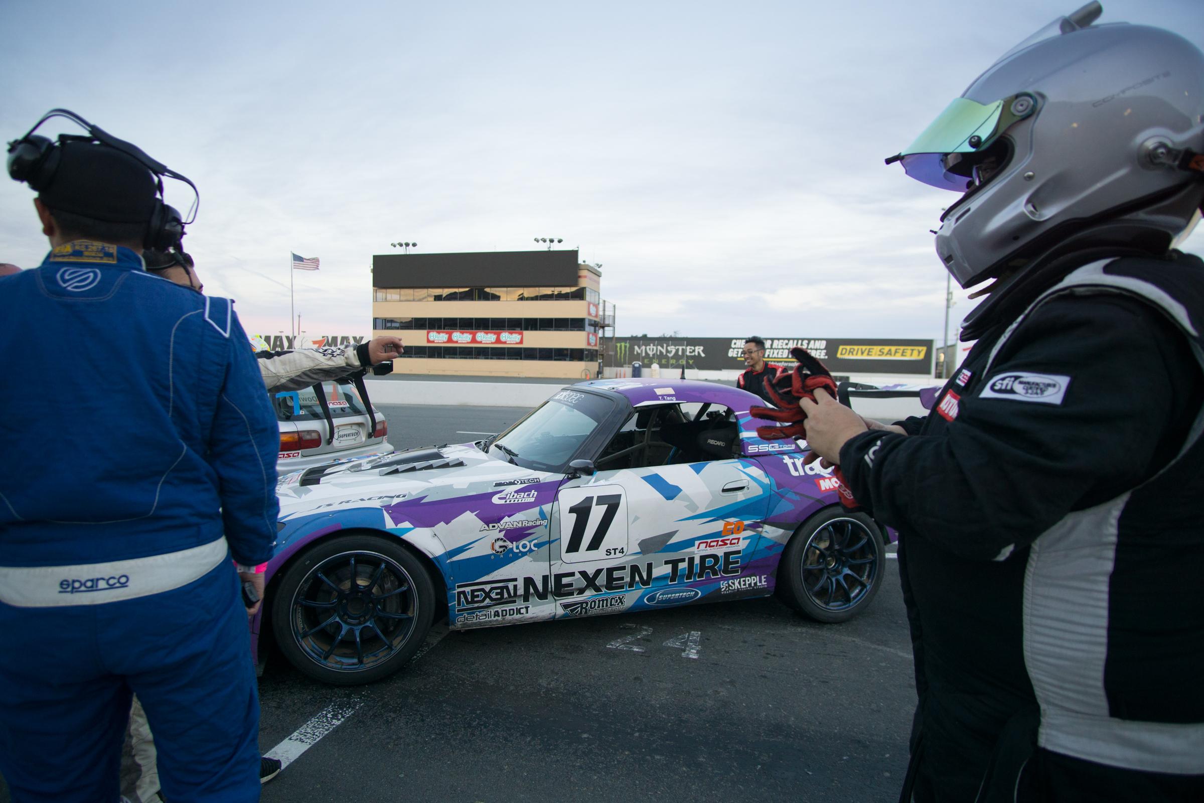 NASA E0 Endurance Sonoma Raceway Trackspec Autosports