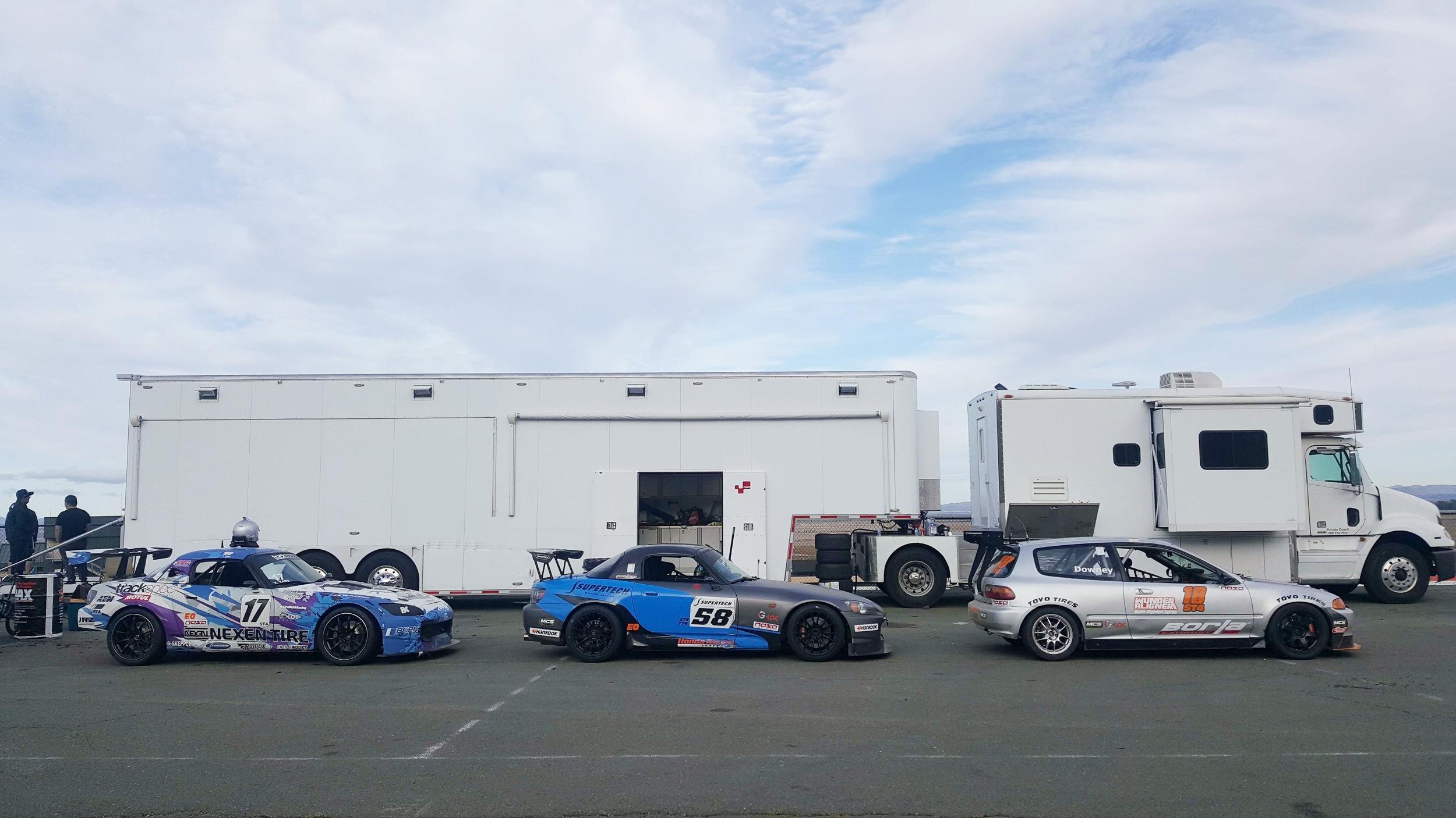 NASA ST4 Sonoma Raceway