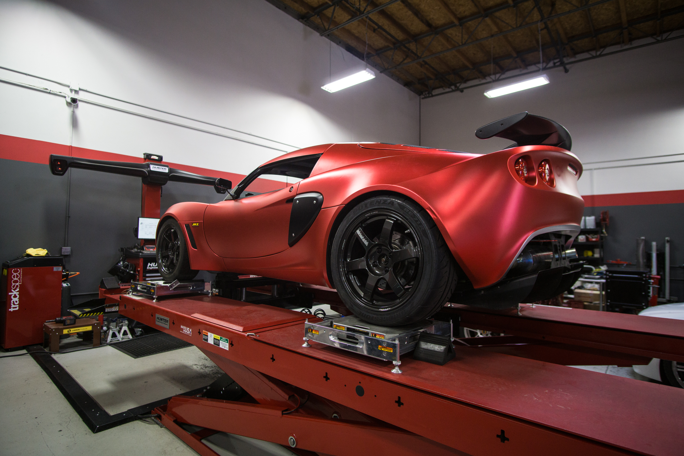 Lotus Exige Trackspec Autosports Techwrap Strawberry