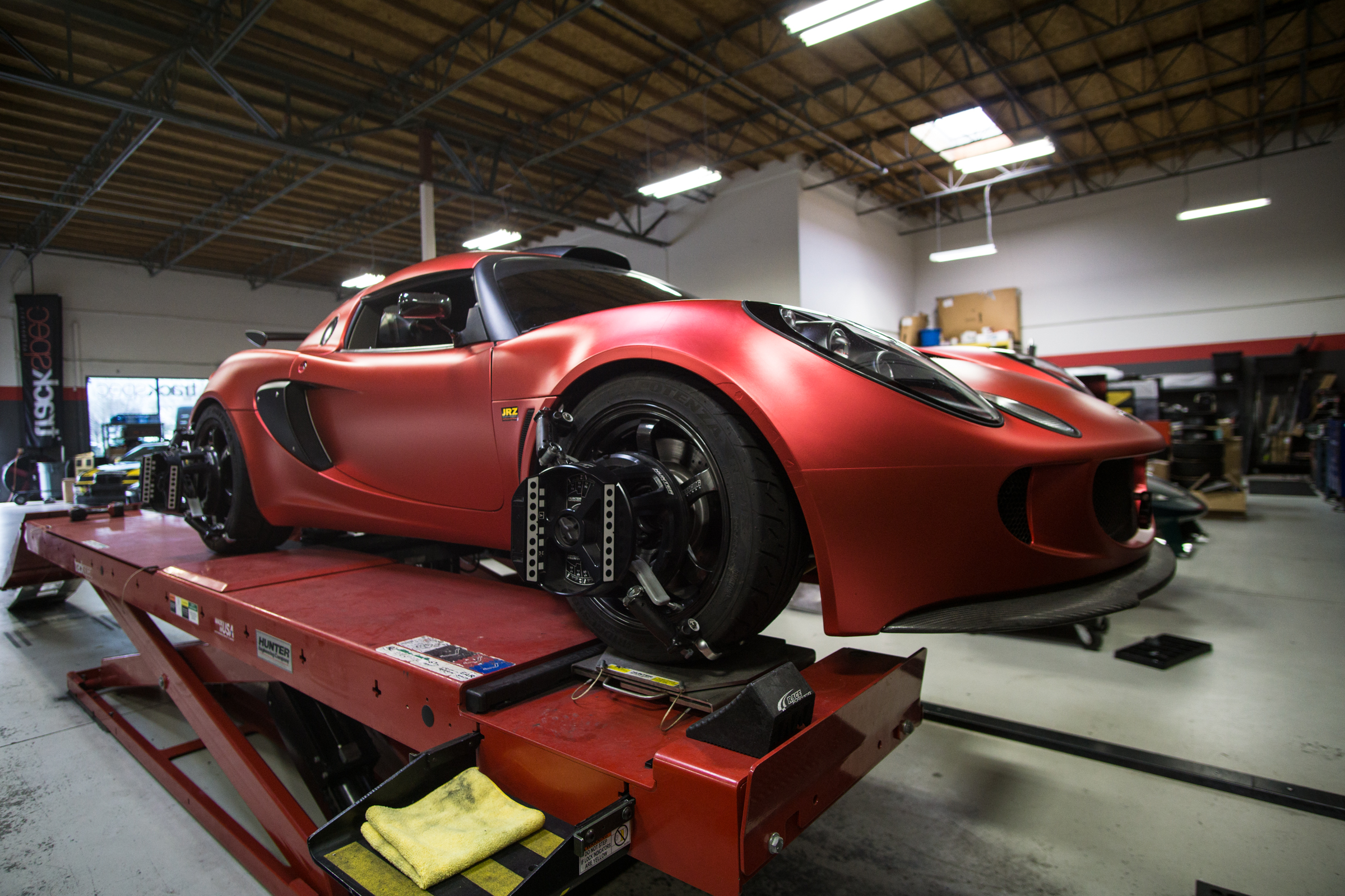 Trackspec Autosports Lotus Exige Techwrap Strawberry