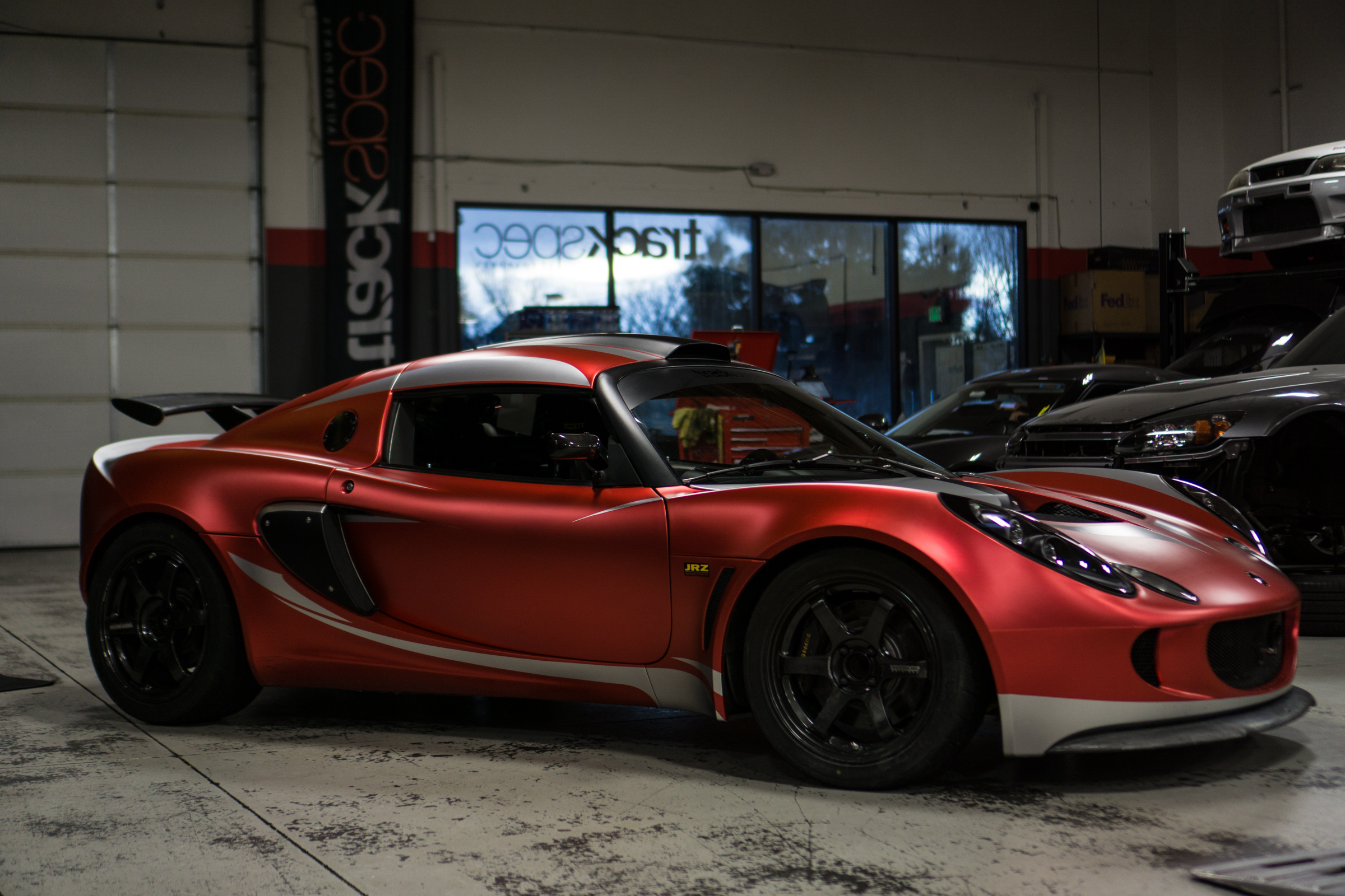 Lotus Exige Trackspec Autosports Teckwrap Strawberry