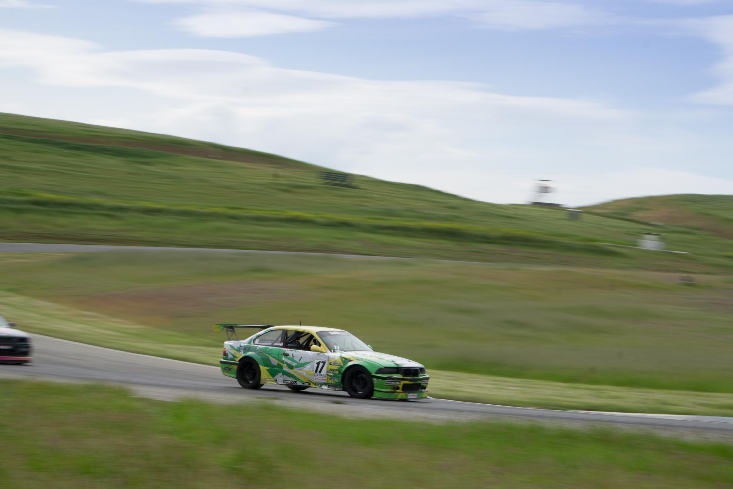 Tom Tang E36 M3 Thunderhill Raceway
