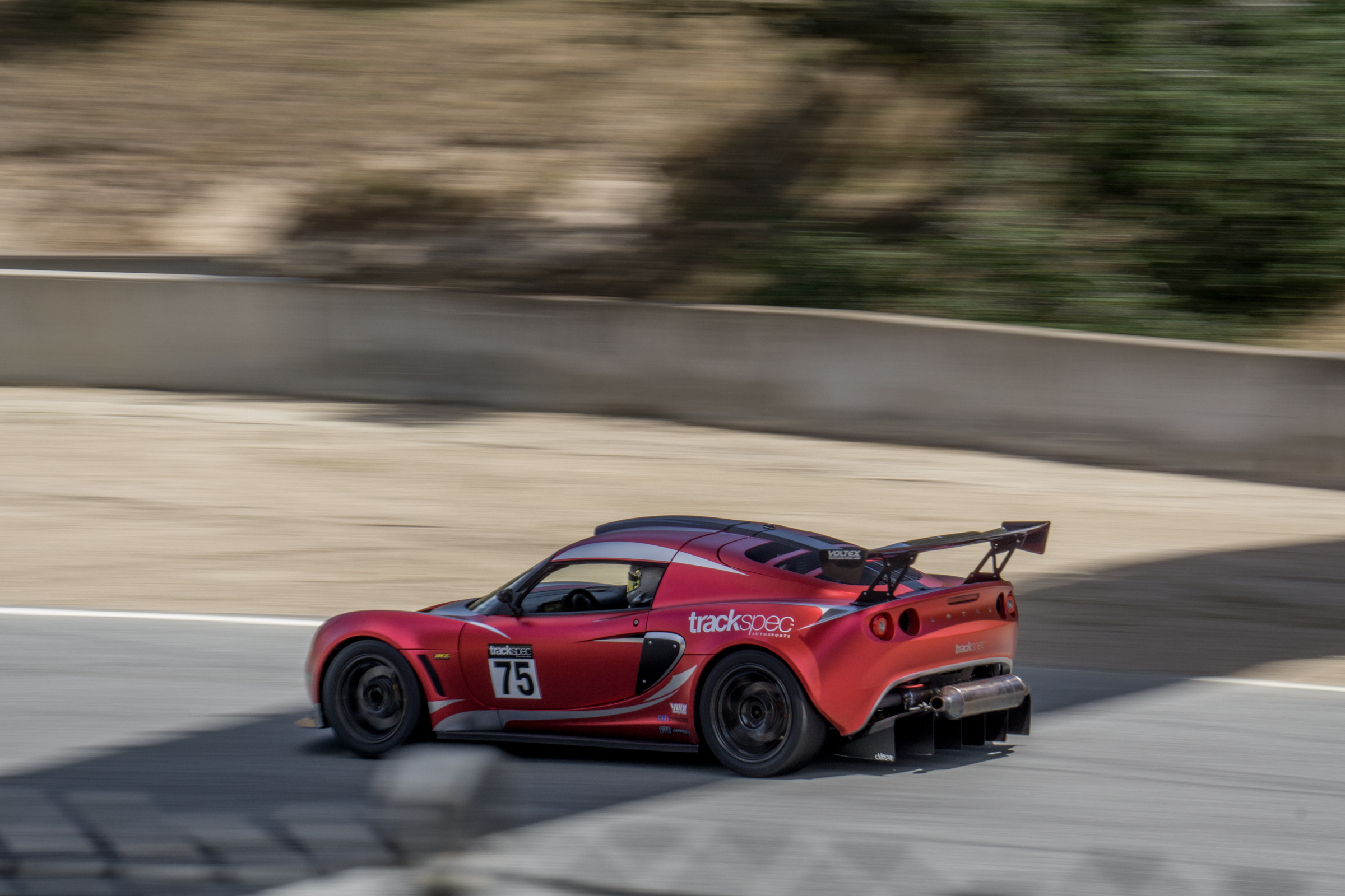 Trackspec Autosports Laguna Seca Golden Gate Lotus Club GGLC Lotus Exige