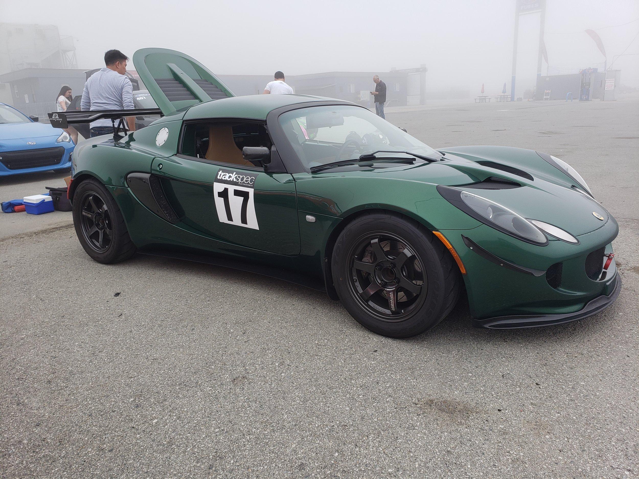 Trackspec Autosports Laguna Seca Golden Gate Lotus Club GGLC Lotus Elise