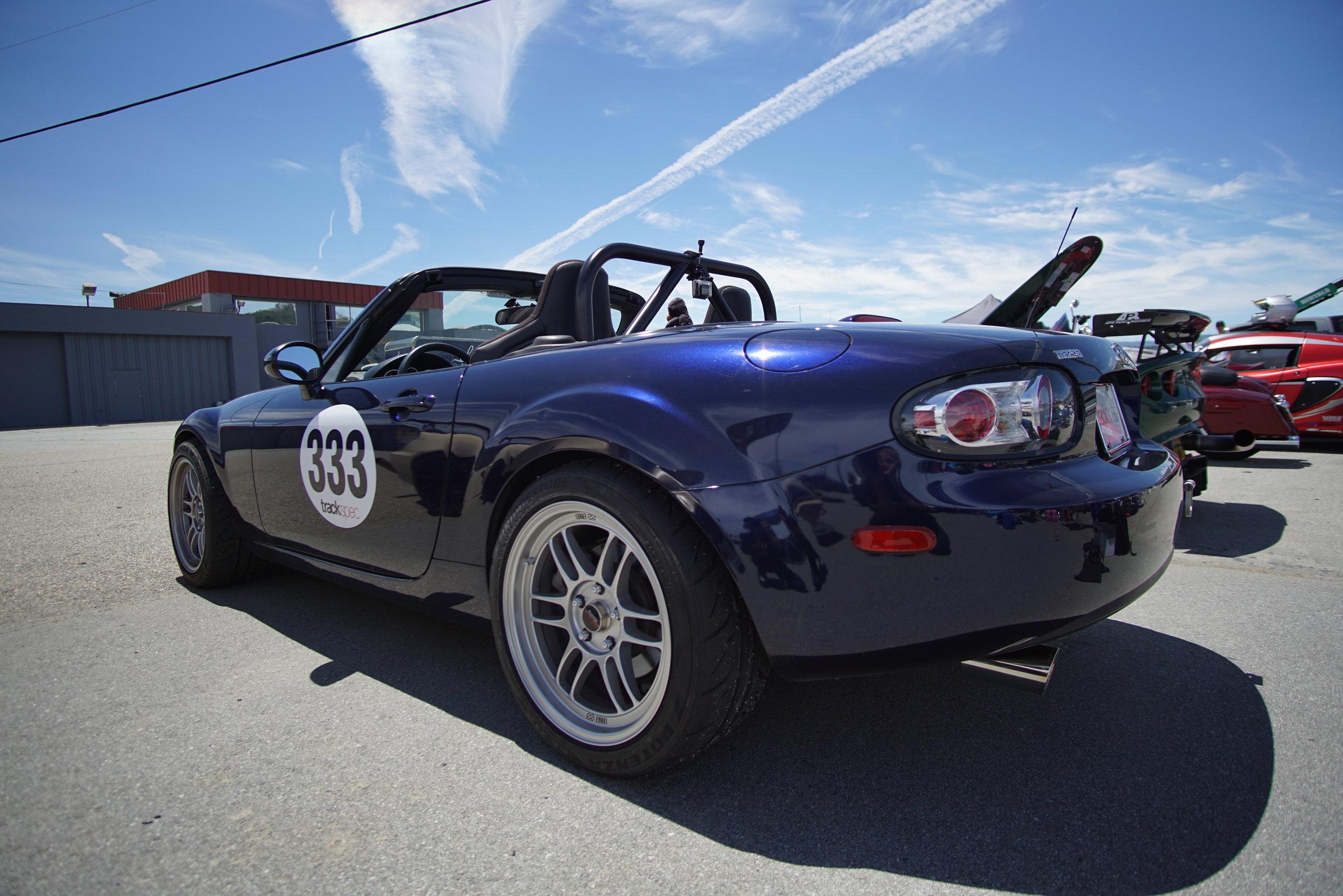 Trackspec Autosports Laguna Seca Golden Gate Lotus Club GGLC