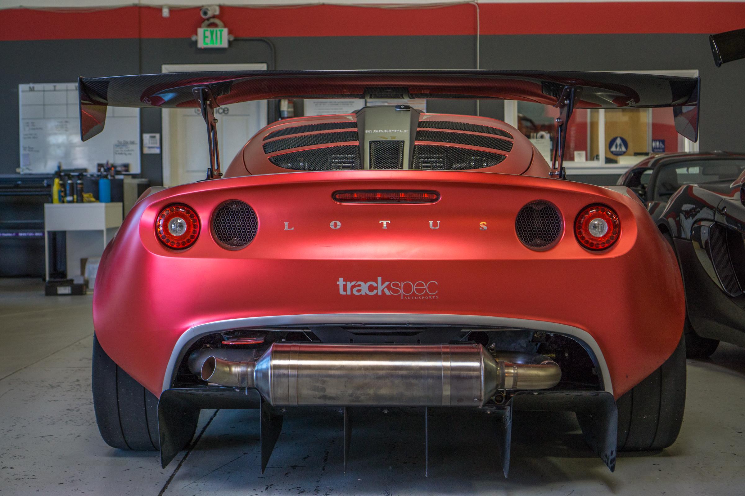 Lotus Exige Trackspec Autosports Laguna Seca