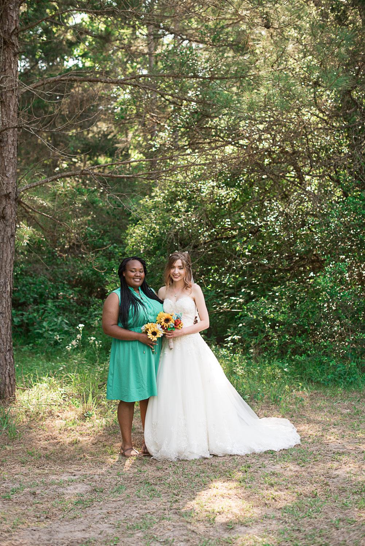 90 bride and bridesmaid formal photographs.jpg