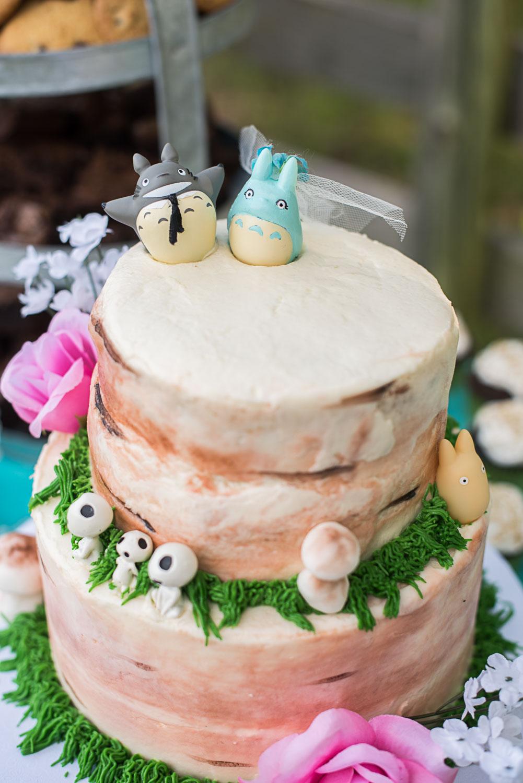 117 princess mononoke forest spirits kodamas cake decoration.jpg