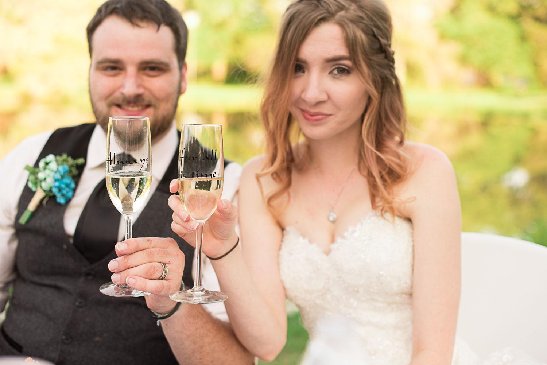 135 custom champagne glasses for bride and groom.jpg