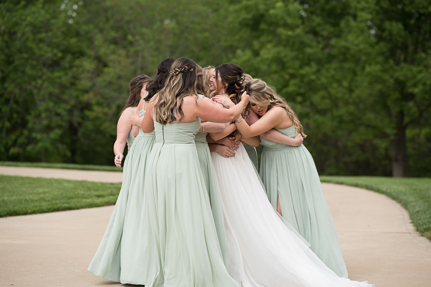 39 Austin Texas Outdoor Wedding Party.jpg
