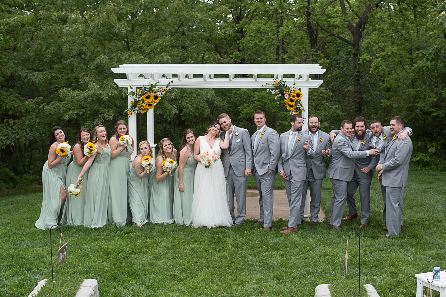 81 bridal party summer wedding sunflowers.jpg