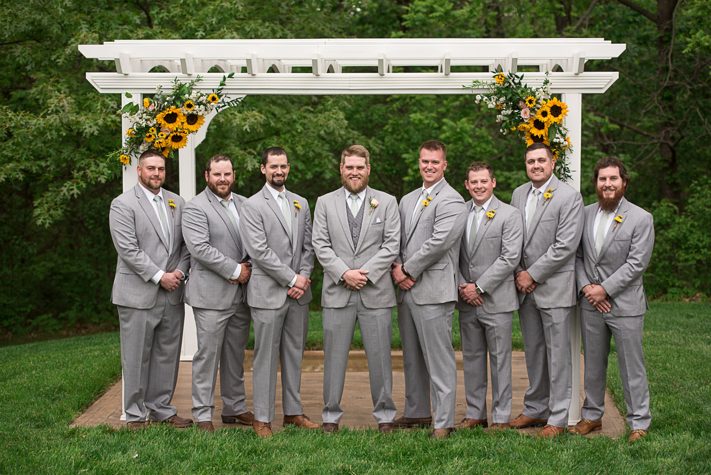 85 Groomsmen Grey and Sunflowers.jpg