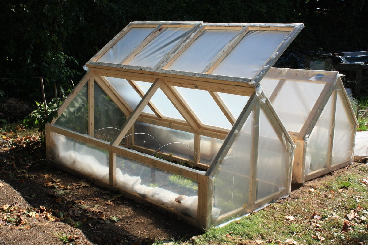 Cold Frame With 6mil 5 Year Or Better