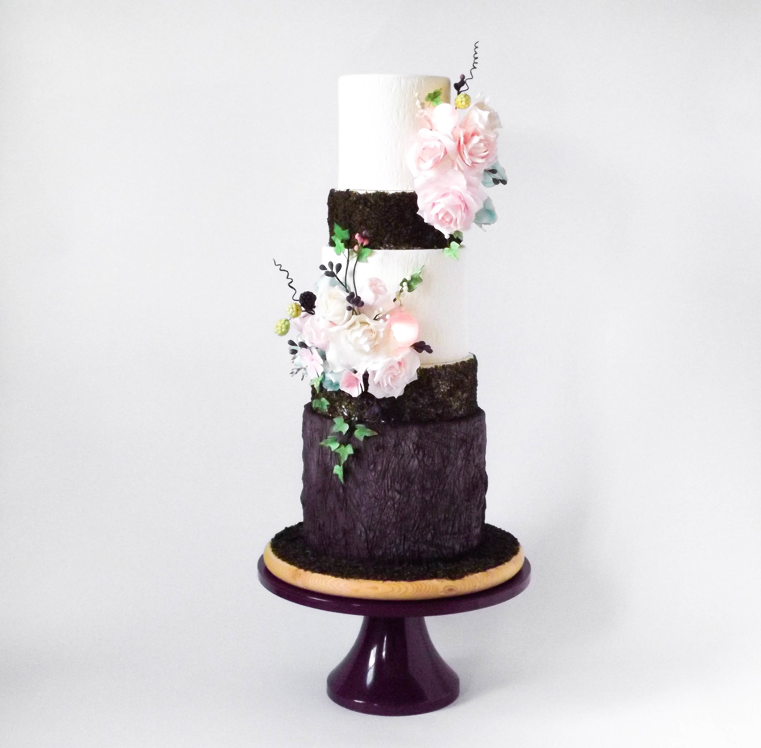 Woodland Fairies - Commonwealth Cake Company - Charlottesville - Wedding Cake.jpg