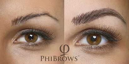 The World's Most Natural Eyebrows in 90 minutes