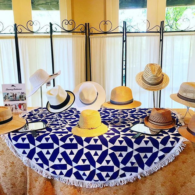 Shade your eyes in style  a great onsite gifting experience allows guests not only choice, but immediate gratification! Fedora's and Sunhat's perfectly fit into our clients' outdoor activities around Napa this week..jpg