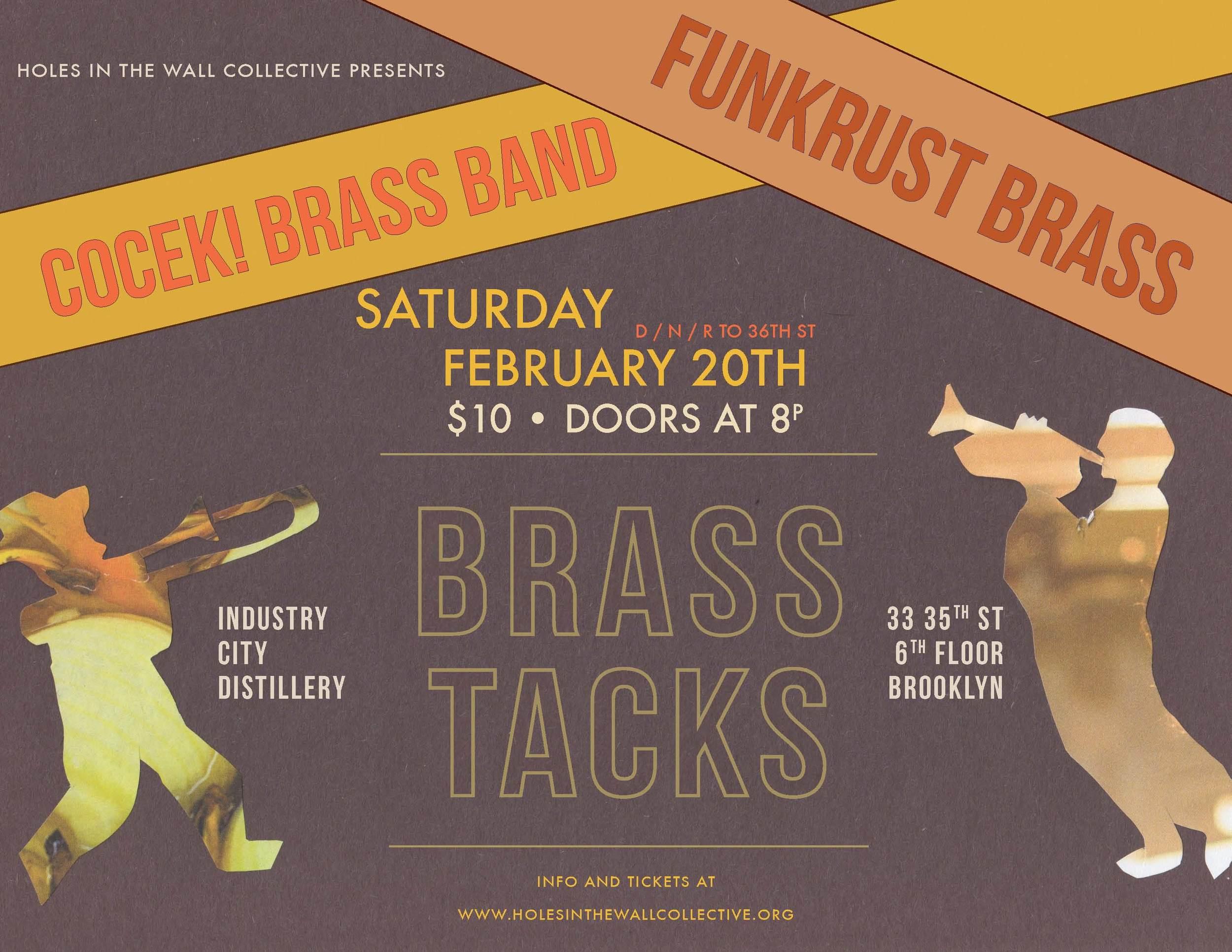 BRASS TACKS 2/20