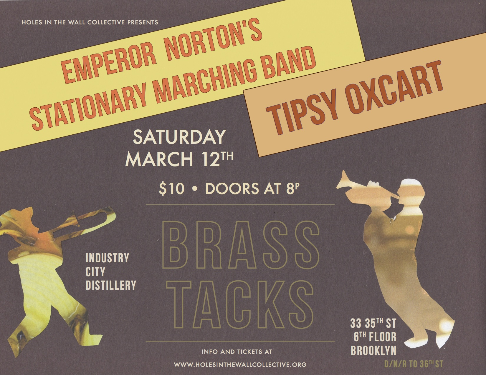 Tipsy Oxcart & Emperor Norton's Stationary Marching Band