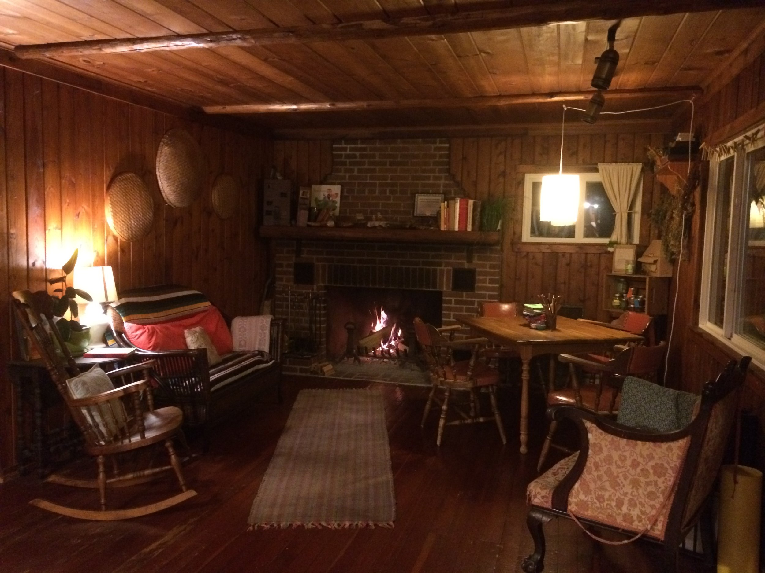 The Cabin Living Room