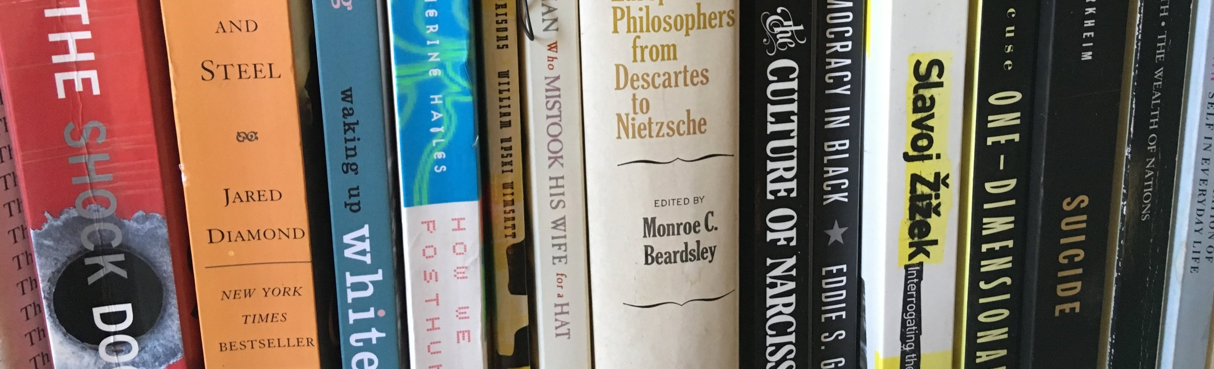 creative Residency guy in books