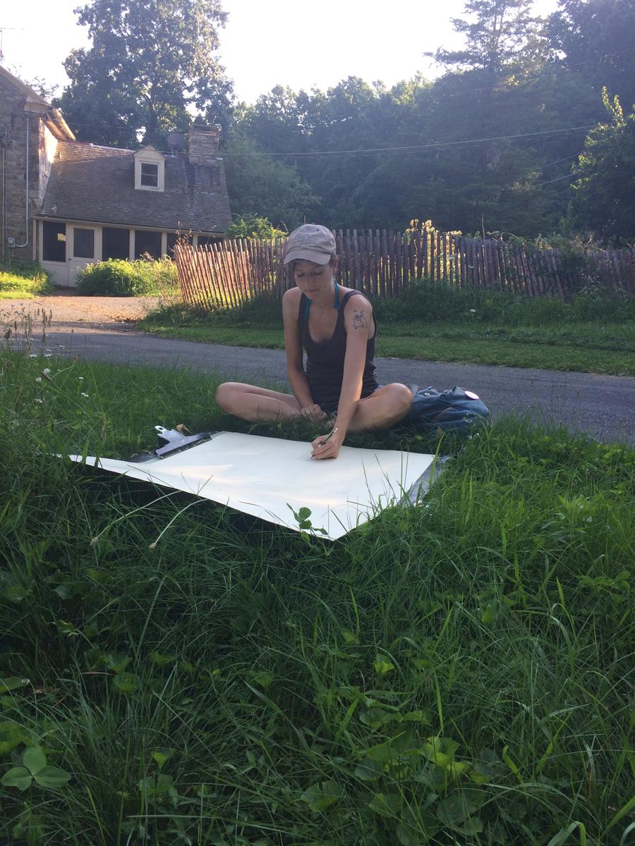 Katie Knoeringer Open Residency July 31 - August 4,2017   Www.katieknoeringer.com