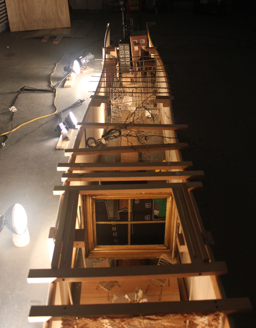 HWC's 25 ft diorama.