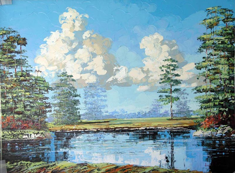 """Pine Glade"" - 36x48 - $4,500.00"