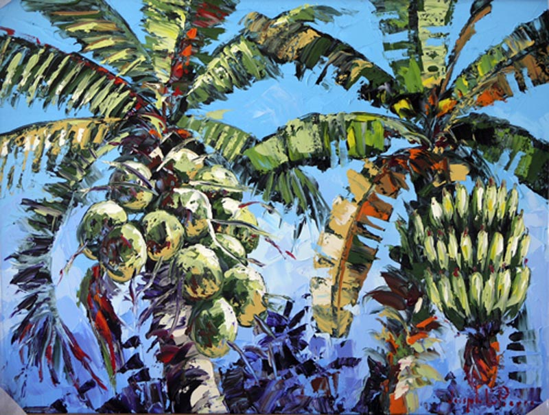 """""""Tropical Fruits"""" - 30x40 SOLD"""