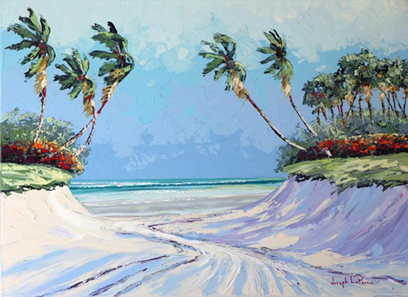"""""""Beach Pass"""" - 36x48 SOLD"""