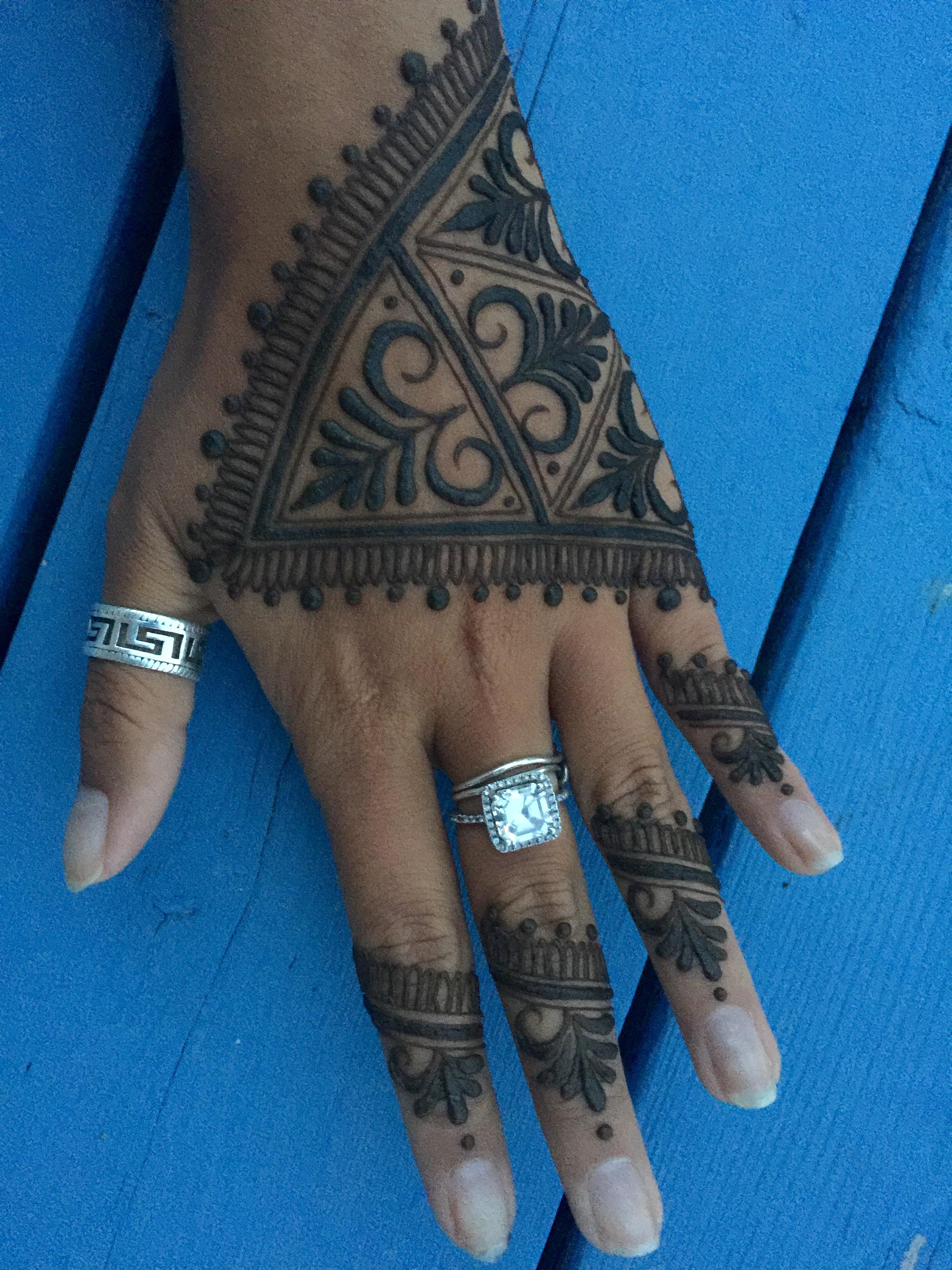 Henna Paste Design- $30