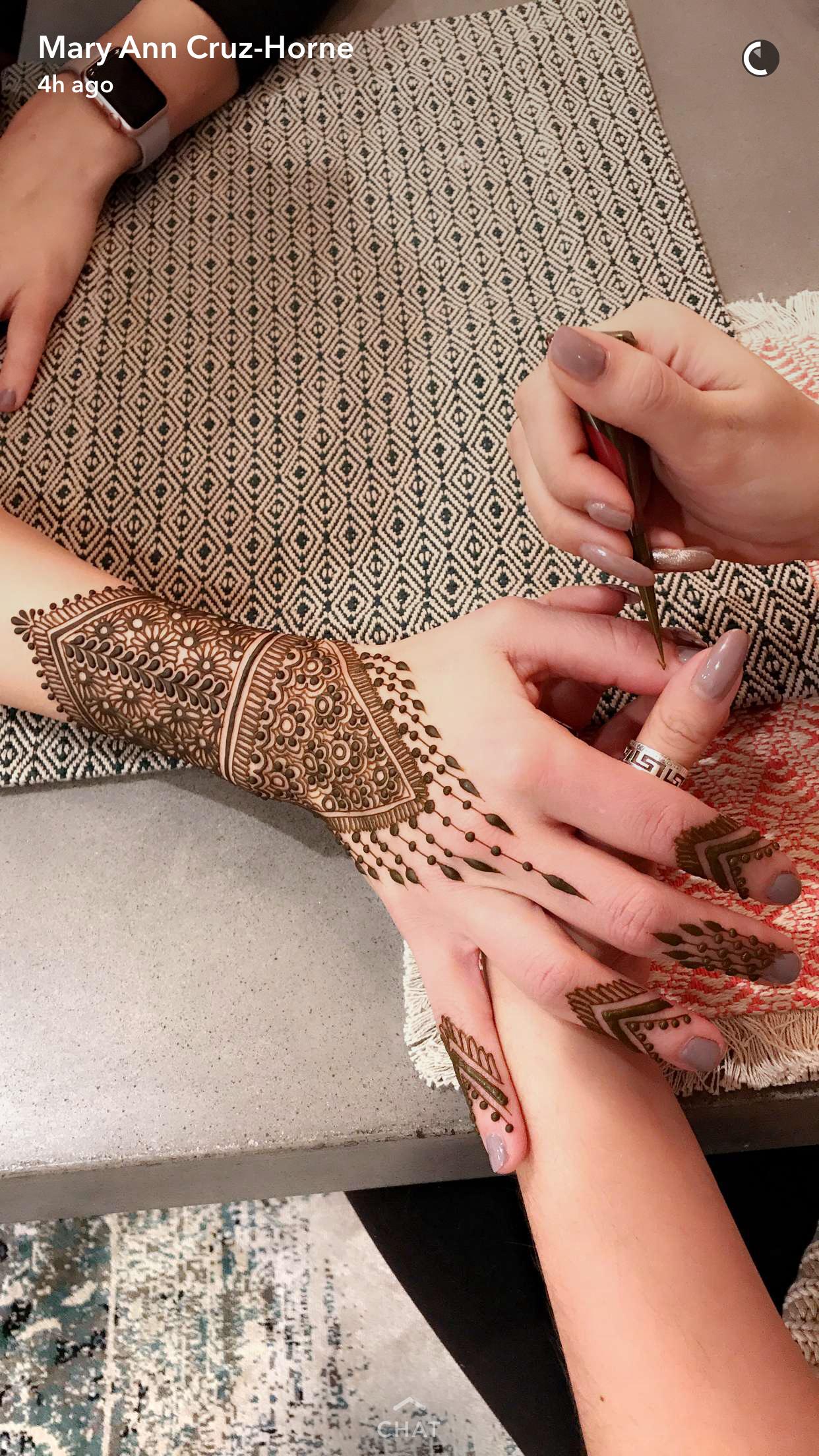 Henna Paste Design- $40