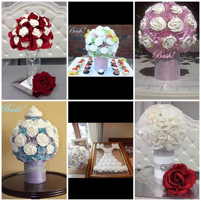 💐A few of my favorite Cupcake Bouquets of this year💐
