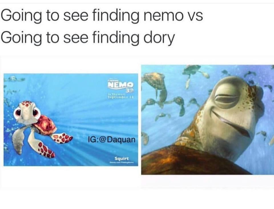 Finding Dory Meme Easter Egg