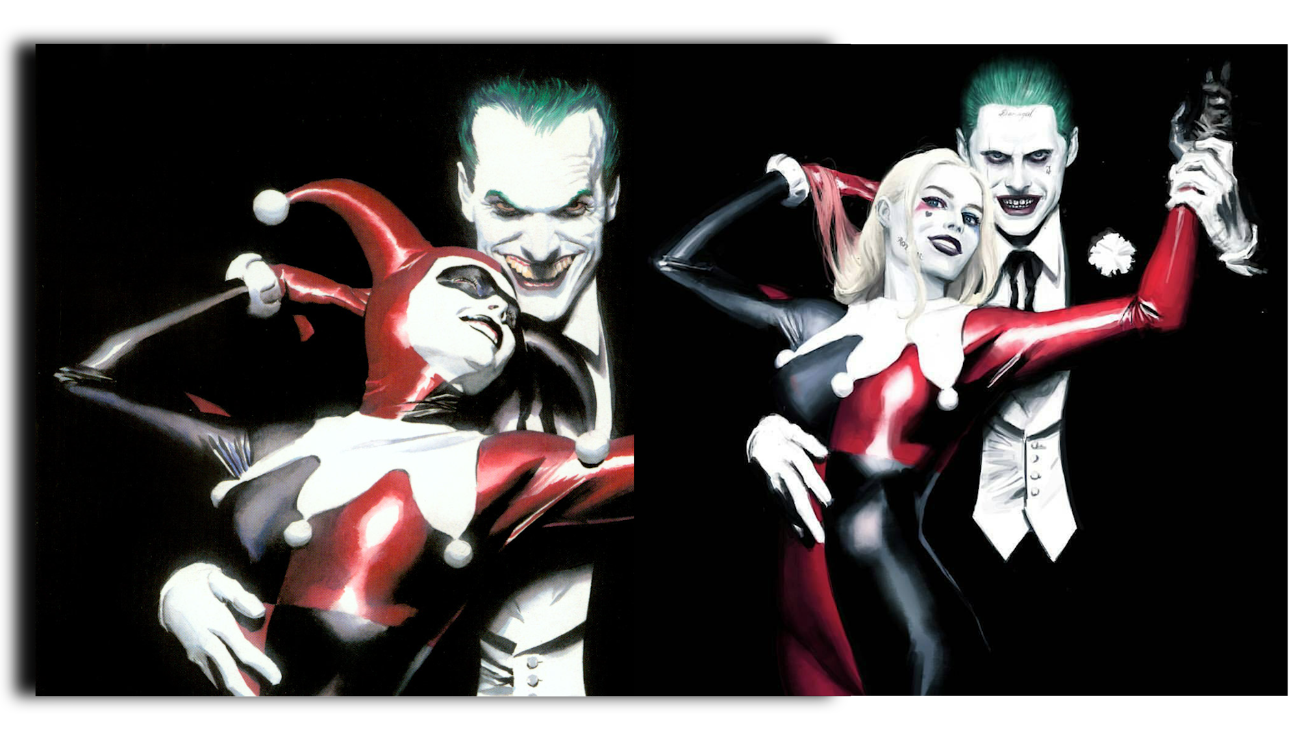 The Atz Show Joker S Tattoos Explained Suicide Squad Easter Eggs