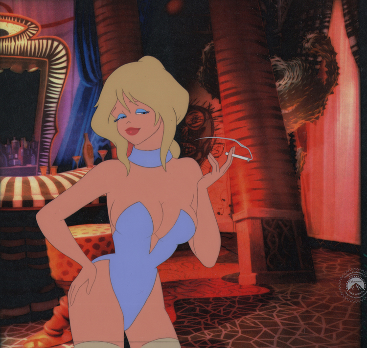 Comic Mint Animation Art Cool World 1992 Directed By Ralph Bakshi