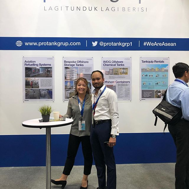 2nd day of (OGA) Oil and Gas 2019 - our booth at Hall 1 KLCC is buzzing with attendees. Drop by and say hi!