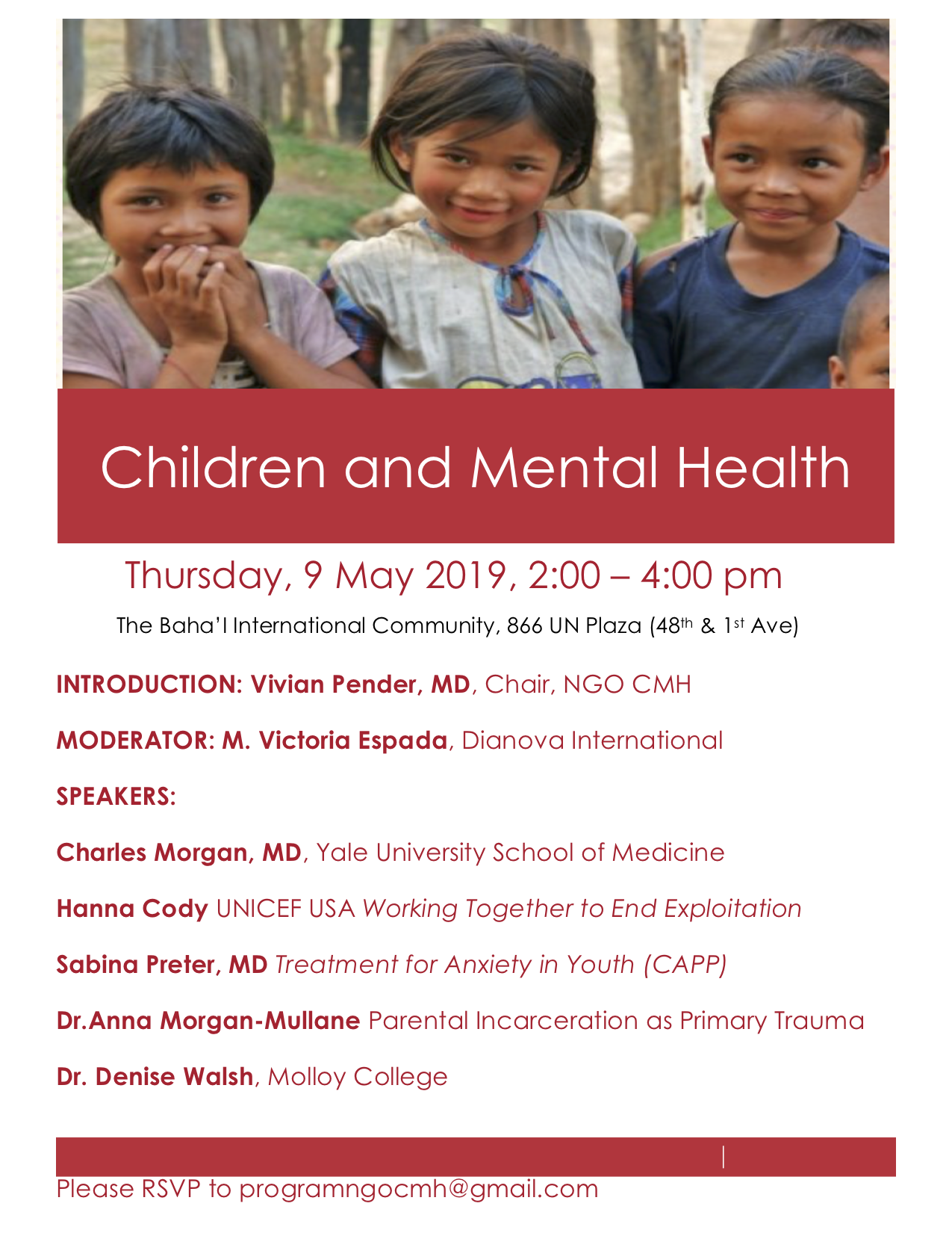 NGOCMH Flier for May 9 2019.png