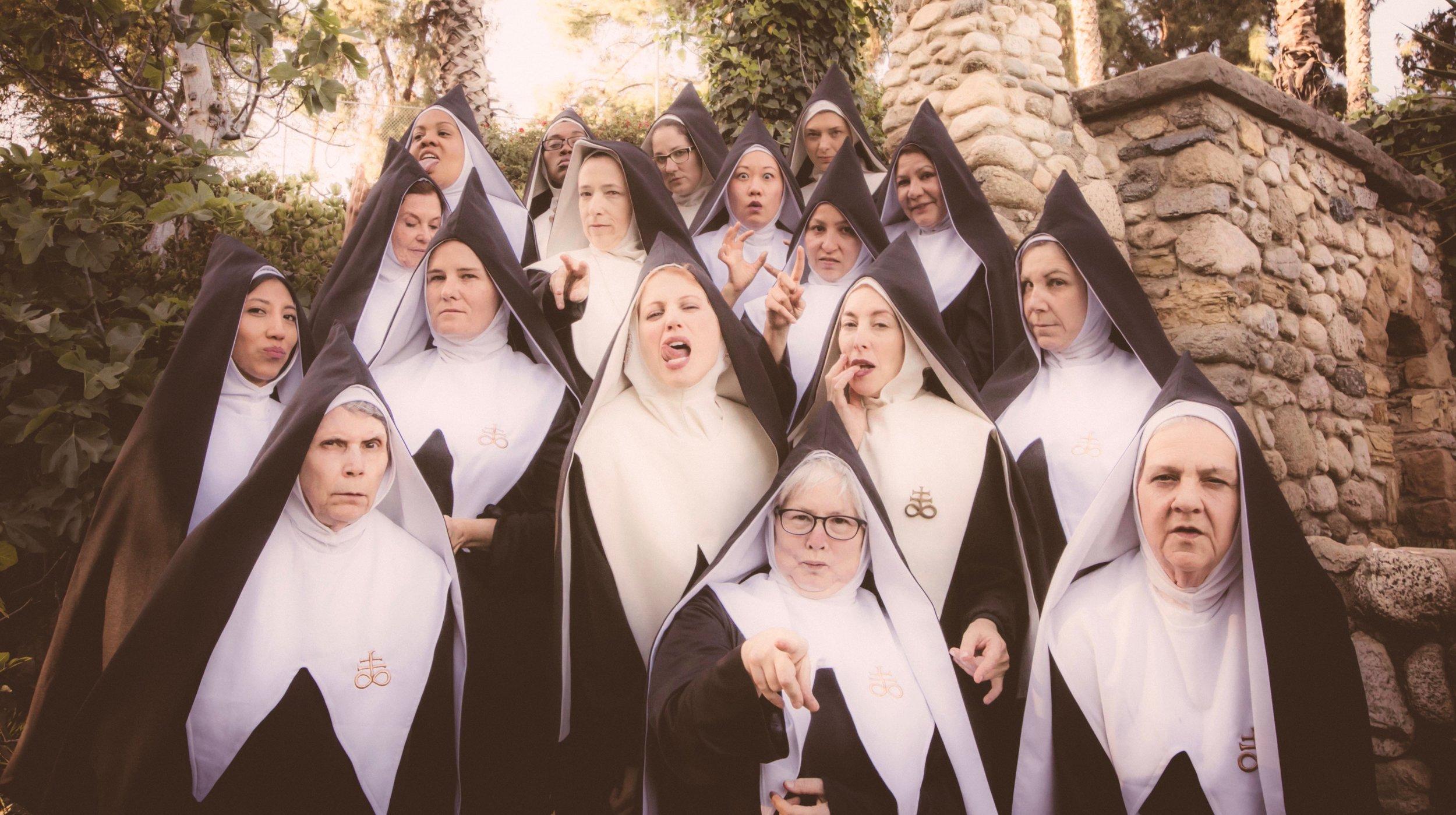 8 Good omens chattering nuns hal kirkland.jpeg