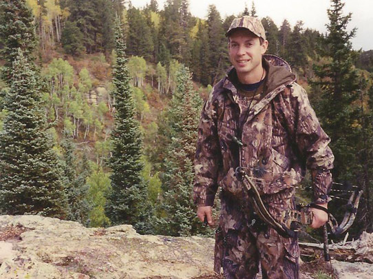 Bill searching for success in a 2003 backcountry elk hunt.