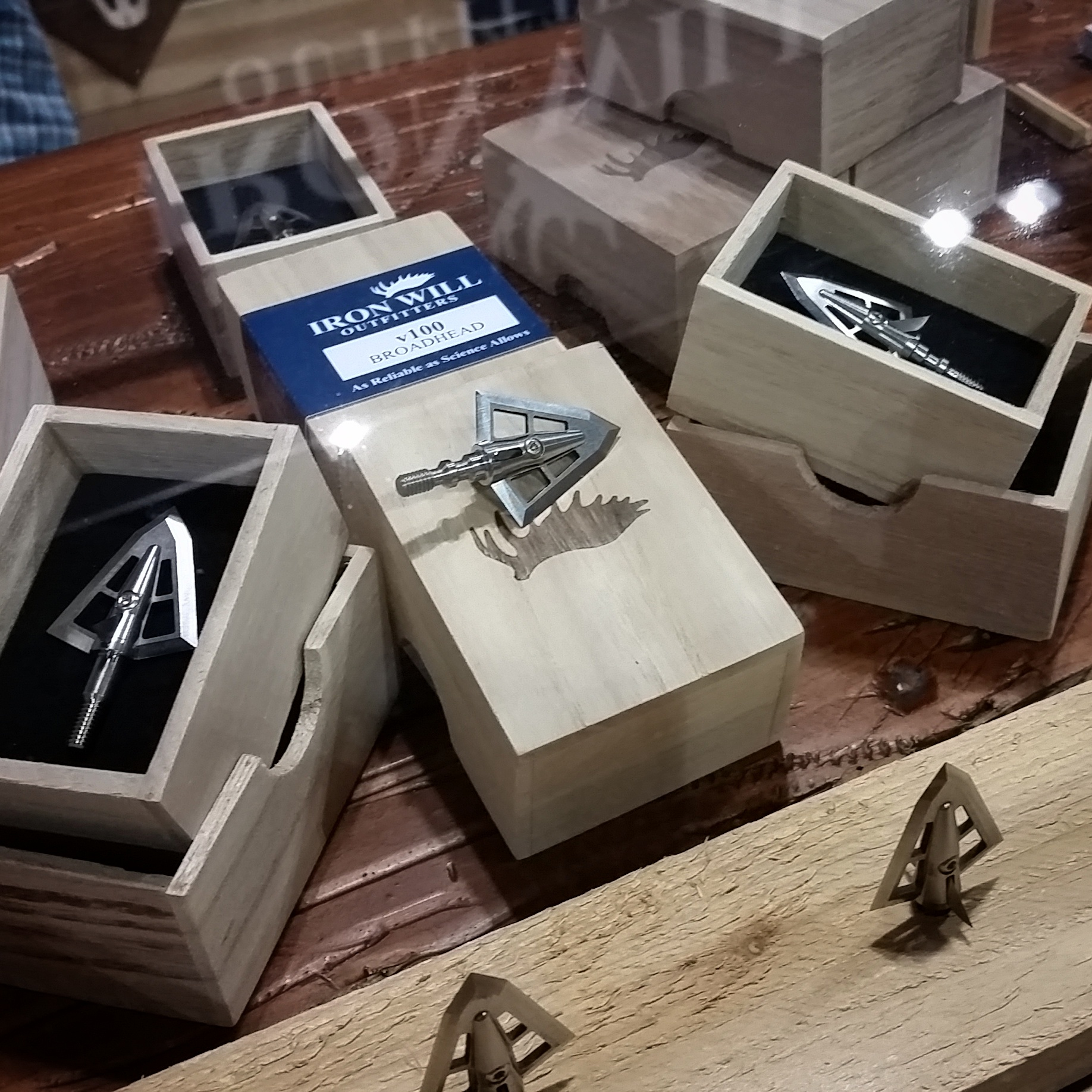 #Broadheads are on display at ISE Denver! Premium materials and optimal engineering provides accuracy at distance and maximum penetration.