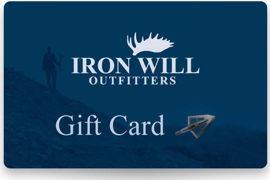 Iron Will Gift Card - $25-$500