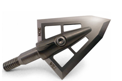 Custom Engraving - If you'd like to customize your Iron Will broadheads and their packaging for the most memorable hunts, our laser-marking technique looks as sharp as our blades. Available on the broadhead's back bevel and/or wood packaging.