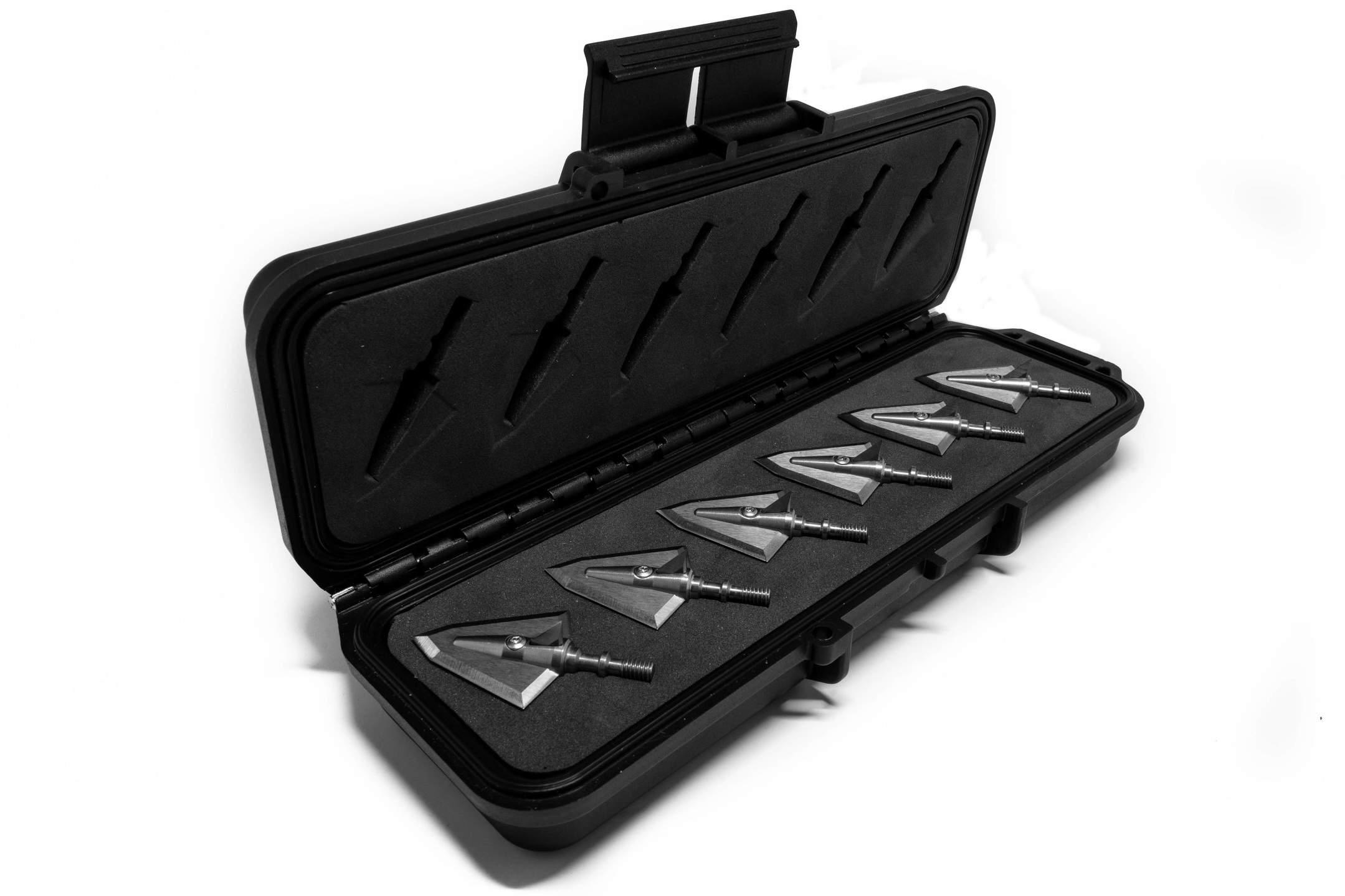 Travel Case with Six Broadheads - Starting at $214.95